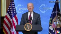 Biden at Climate Summit: 'No Nation Can Solve This Crisis on Their Own'
