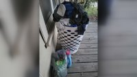 Dirty Laundry Left on Texas Porch Spins Mystery