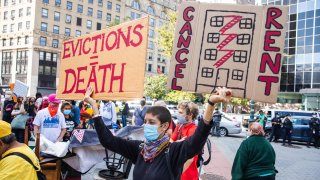march against eviction
