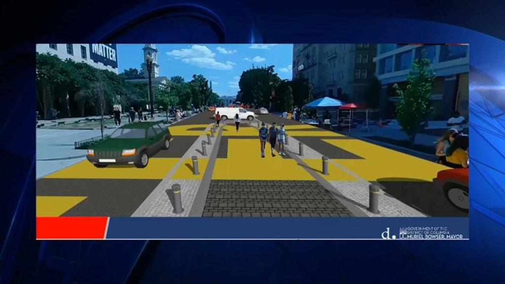 Black Lives Matter plaza rendering