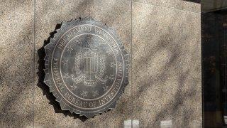 FBI Seal at Washington D.C. HQ