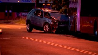 Southern Avenue Metrobus crash