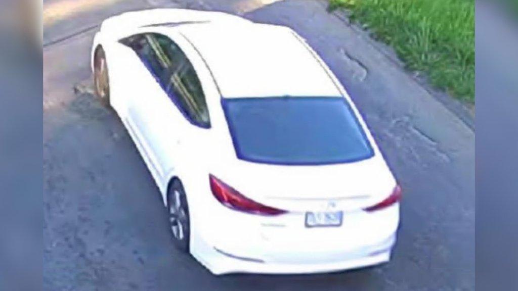vehicle of interest child shot