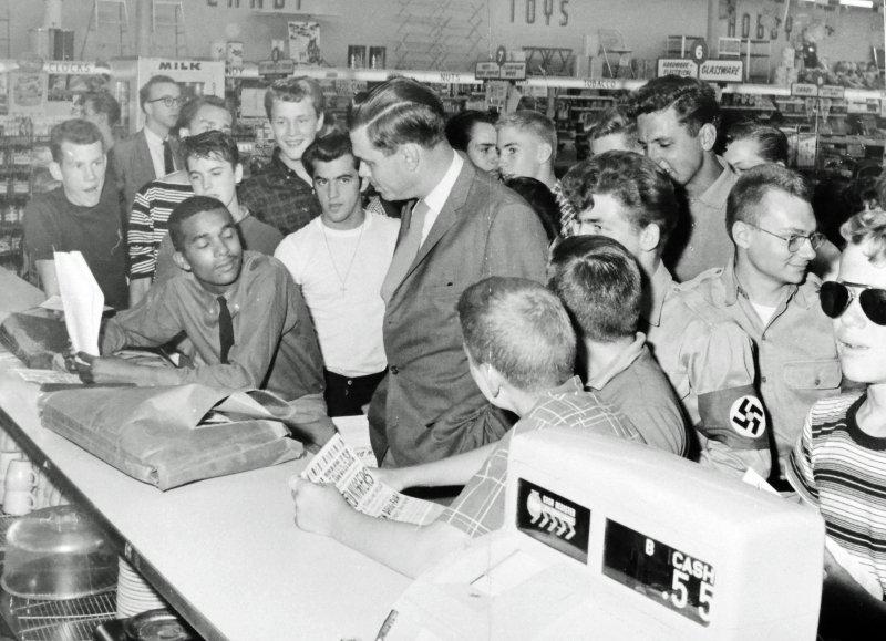 Photos: Postcard Exhibit Highlights Civil Rights Sit-Ins in Arlington
