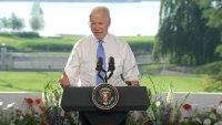 "Biden Says ""Last Thing"" Putin Wants Is a Cold War"