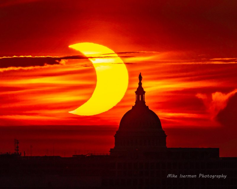 Photos: 'Ring of Fire' Solar Eclipse Seen in DC, Maryland, Virginia