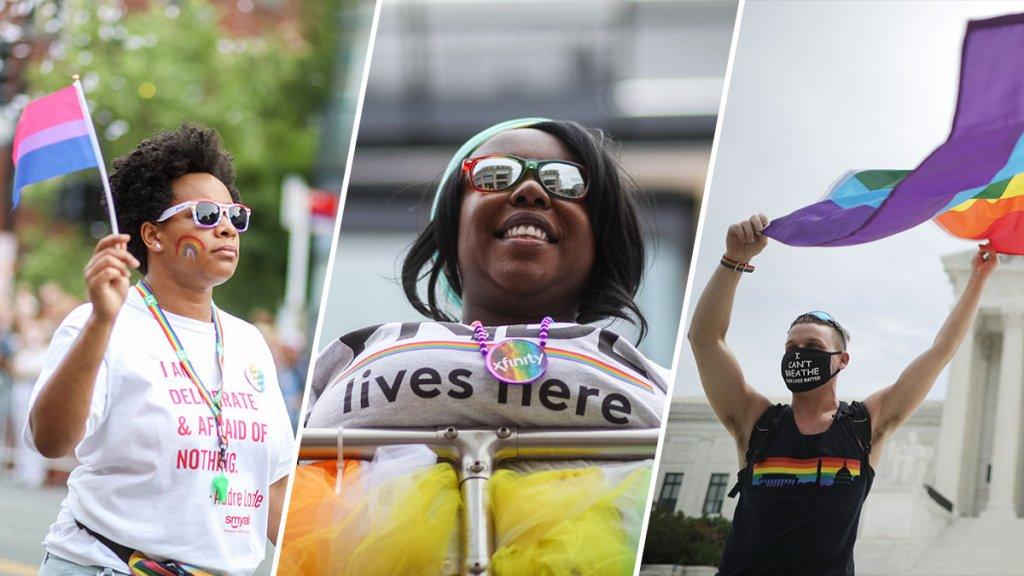 file photos of DC pride celebrations