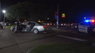 At about 10:30 p.m., a driver was involved in a road rage incident near Great Trinity Forest Way and Murdock Road that turned into a shooting, police said.