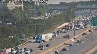 crash on i-95 south in Fairfax County