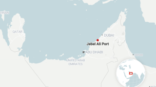 A fire was reported to have erupted on a ship at the Jebel Ali port in Dubai, United Arab Emirates late Wednesday July 7, 2021, according to a Twitter post from Dubai's state-run media office.