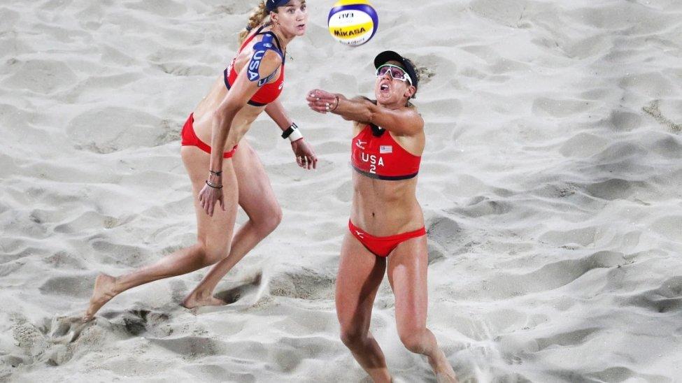 Why Do Beach Volleyball Players Wear Bikinis? Team USA