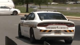 A Loudoun County Sheriff's Office cruiser as seen on NBC Washington on July 13, 2021.