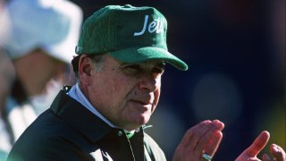 head coach Joe Walton of the New York Jets