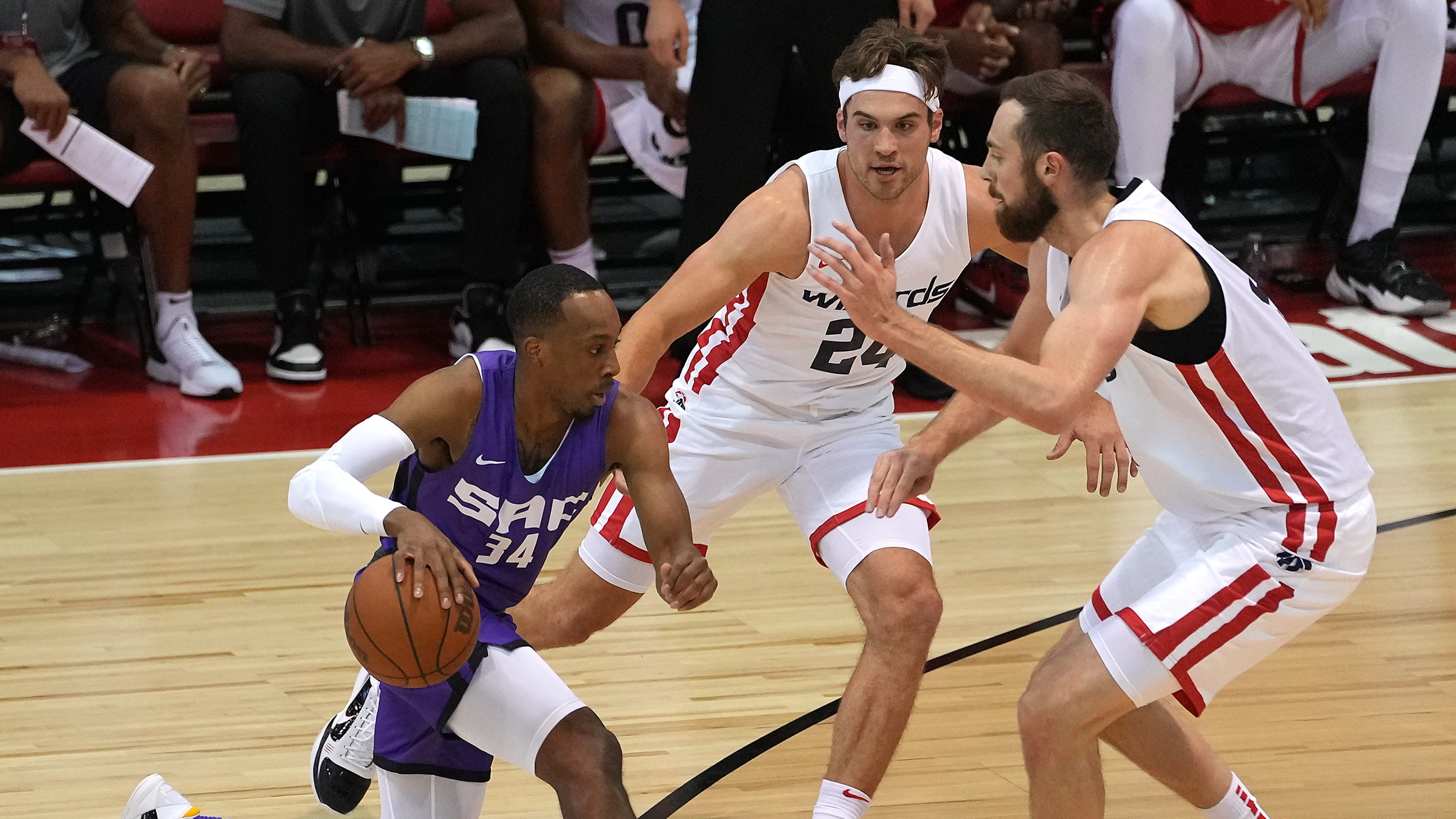 Corey Kispert Debuts as Wizards Lose to Kings in First Game of Summer League