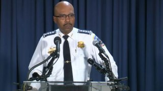 dc chief of police robert contee