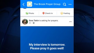 a simulation of Facebook's prayer request feature
