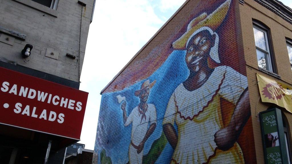 Currulao y Desplazamiento: The Afro-Colombian Mural