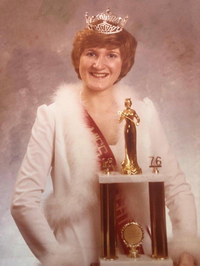 Kathy Gillcrist, Miss Stoughton 1976