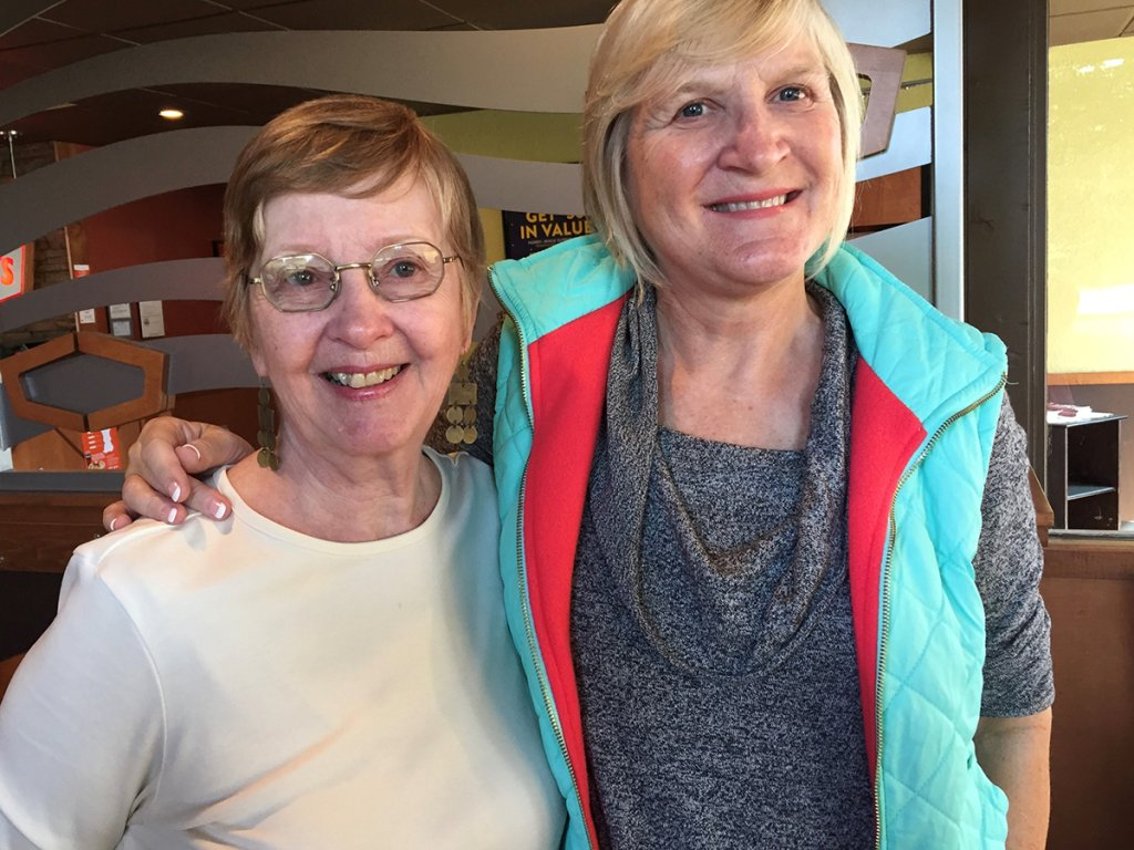 Susan Gillmor and Kathy Gillchrist