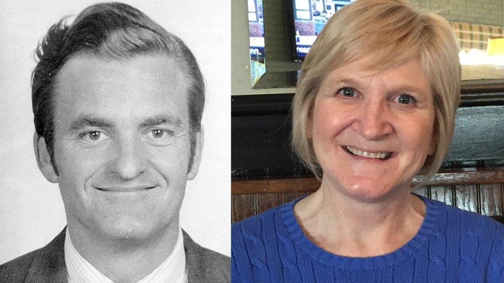 William Bradford Bishop (left); Kathy Gillchrist (right)