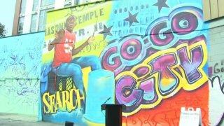 dc go go mural
