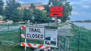 trail detour kennedy center