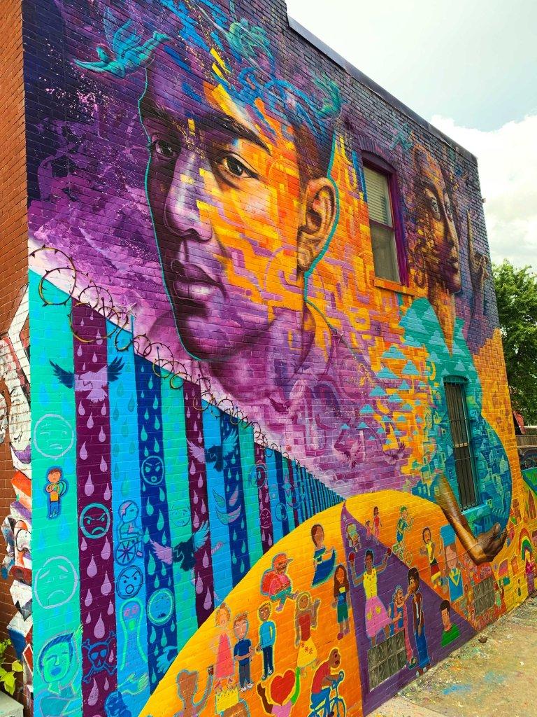 Latino murals DC