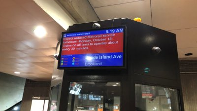 Monday Commute Challenged as Metro's Fleet Reduces