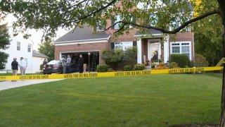 Ellicott City homicide scene
