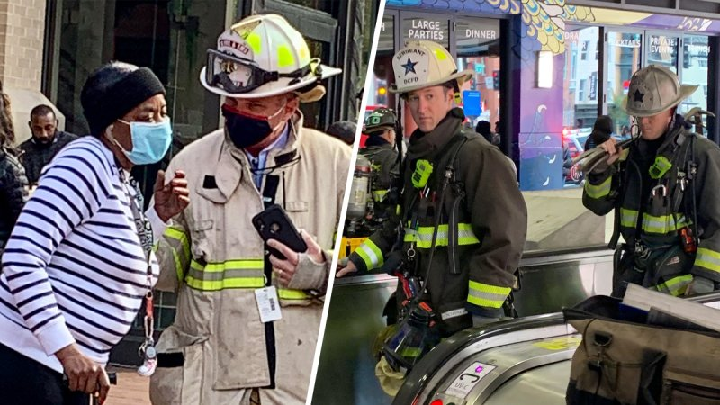 Photos: DC Firefighters Evacuate Passengers on Disabled Metro Train