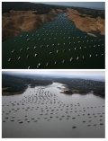 Lake Oroville: August 2014 and April 2017