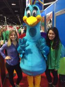 [UGCDC-CJ]We ❤️ the peacock @nbcwashington @lindsaycayne #NBC4Expo https://t.co/CUclhpmwP6