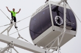 APTOPIX Wallenda Wheel Walk