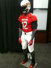 Terps Unveil New Football Uniforms