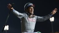 Jockey Victor Espinoza Injured After Horse Suffers Cardiac Arrest on Track, Dies