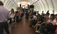 Red Line Delayed After Track Problem Outside Gallery Place