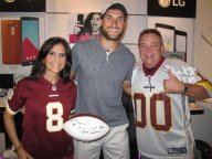 [UGCDC-CJ]@nbcwashington #SkinsFans Had the pleasure of meeting @KirkCousins8 in August before he was named ou