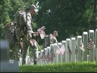 'Old Guard' Honors Fallen With 200K Flags