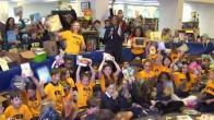 Bethesda Students Donate Thousands of Books to Worthy Cause