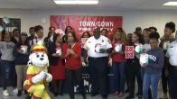 Howard Students Hand Out 100 Life-Saving Smoke Alarms