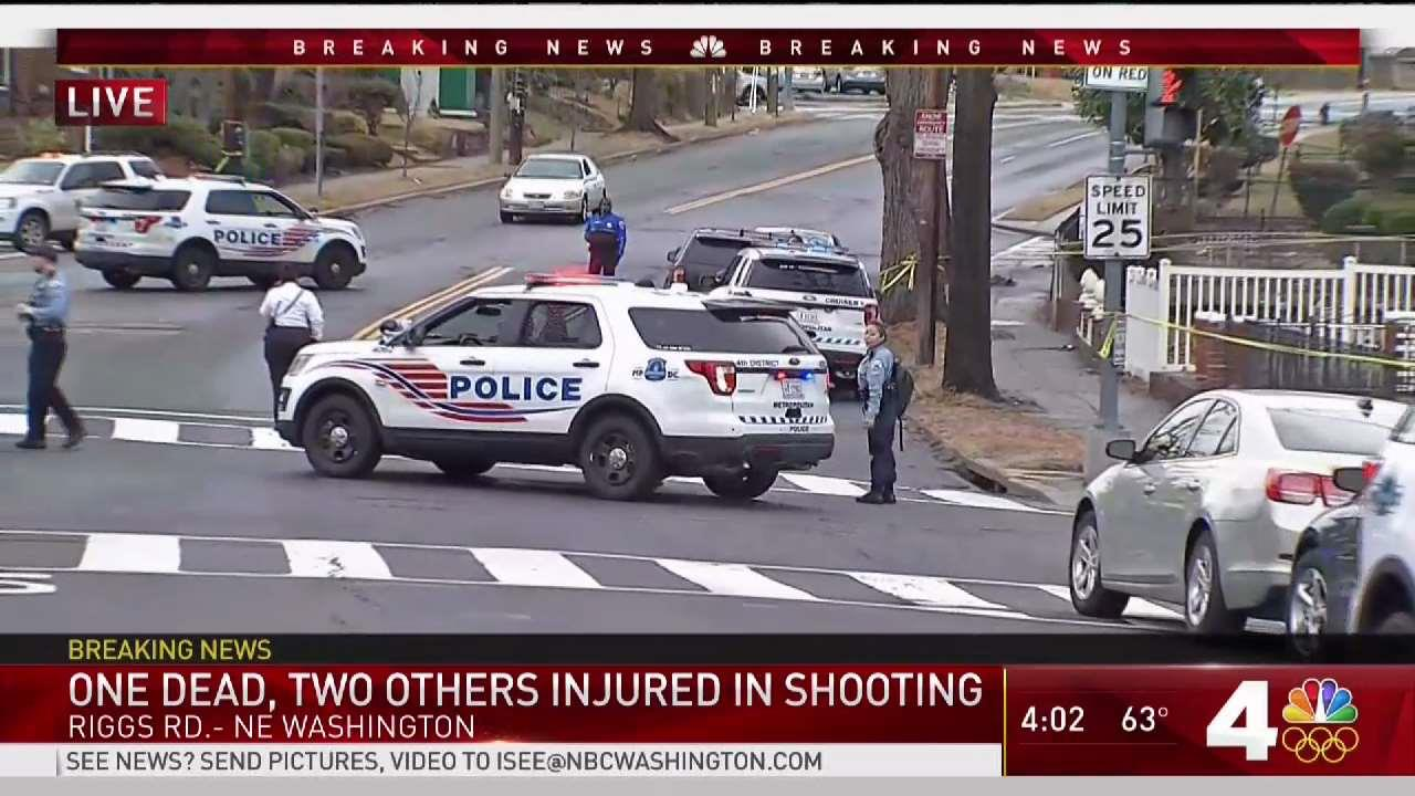 1 Dead, 2 Hurt in Northeast DC Shooting Near Mayor's House