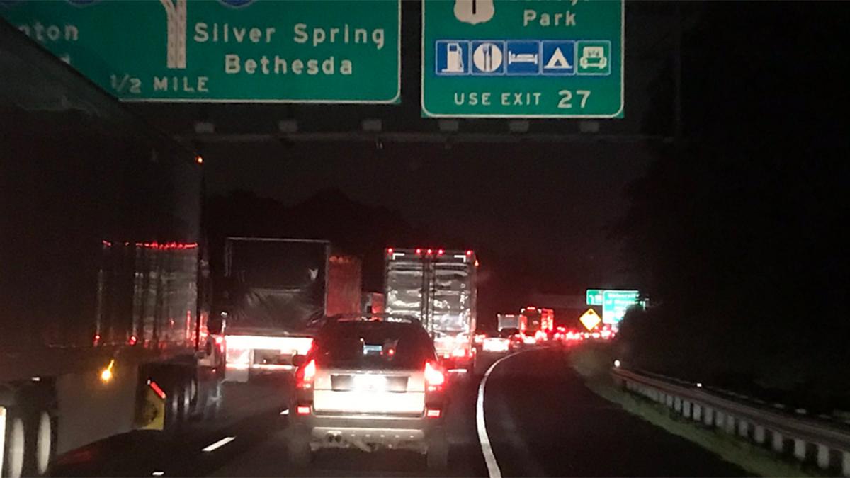 Pedestrian Fatally Struck on Interstate 95 in Maryland