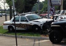 Man Steals Car, Carjacks Police Cruiser During Chase