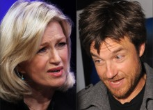 "Diane Sawyer as Jason Bateman's ""Switch"" Muse"