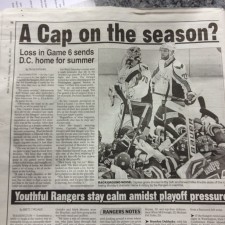 NY Paper Apparently Forgets To Watch Game 6