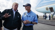 Trump Visiting Florida, Ga.; Search for Missing Continues