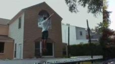 Bethesda Teen Gains Following Doing Trampoline Tricks