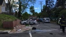 6 Injured After Car Crash in Southeast DC