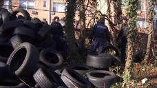 DC Police Arrest Man Accused of Dumping 1,000 Tires