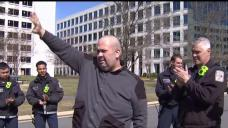First Responders Surprise Colleague After Surviving Cancer